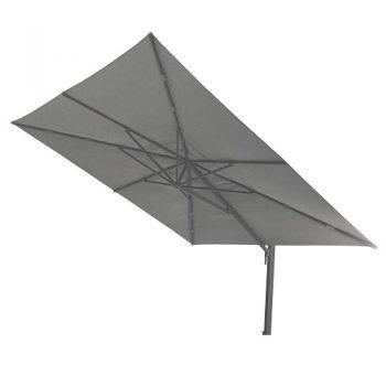 Borek - Porto 400x400 parasol - spuncrylic donker grijs | Next Outdoor