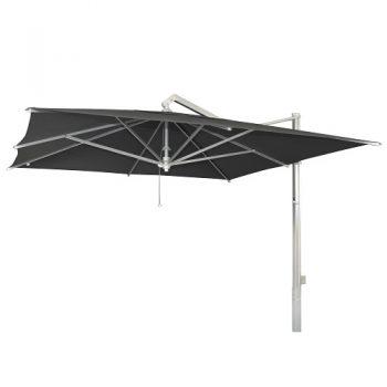 Borek - Rodi 350x350 parasol - sunbrella zwart | Next Outdoor