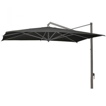 Borek - Rodi 400x300 parasol - batyline zwart | Next Outdoor
