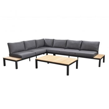 Yoi - Tori corner set - zwart | Next Outdoor