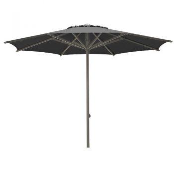 Borek - Arizona Ø350 parasol - sunbrella zwart | Next Outdoor