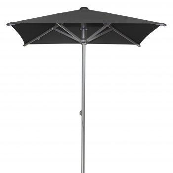 Borek - Arizona 200x200 parasol - sunbrella zwart | Next Outdoor