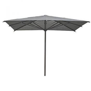 Borek - Arizona 300x300 parasol - batyline zwart | Next Outdoor