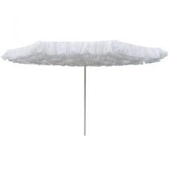 Borek - Monroe Ø350 parasol - spuncrylic wit | Next Outdoor