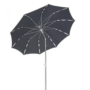 Borek - Flower Ø200 parasol - acrylic zwart | Next Outdoor
