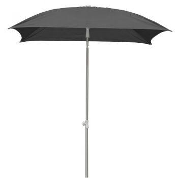Borek - Verona 160x160 parasol - batyline zwart | Next Outdoor