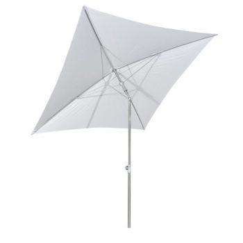 Borek - Verona 180x180 parasol - acrylic wit | Next Outdoor