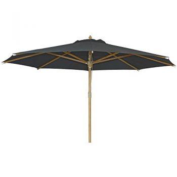 Borek - St. Tropez Ø350 parasol - olefin zwart | Next Outdoor