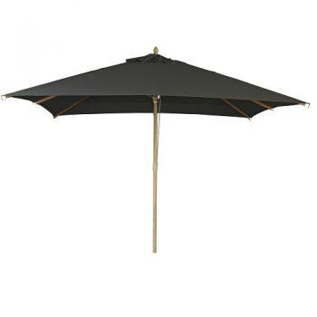Borek - St. Tropez 300x300 parasol - olefin zwart | Next Outdoor