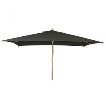Borek - St. Tropez 300x400 parasol - olefin zwart | Next Outdoor