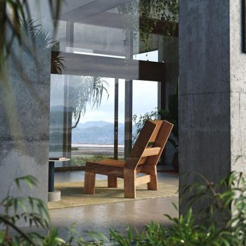 Kettal Band Lounge Chair   Next Outdoor